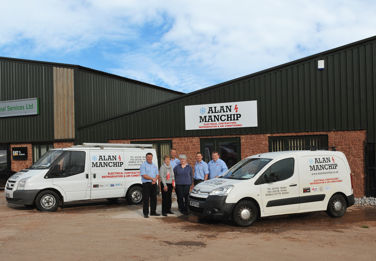Alan Manchip Team