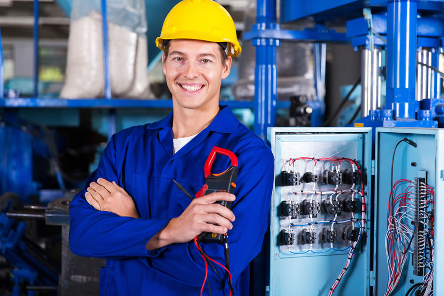 Industrial electrical services in Somerset