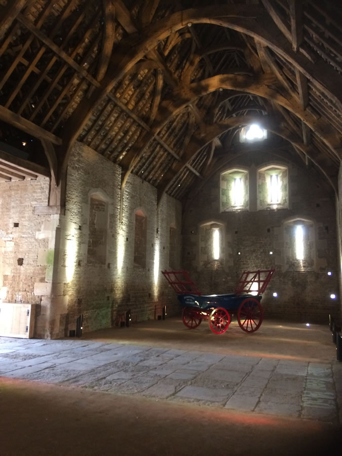 Abbey Barn in Glastonbury